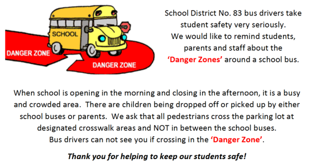 school bus safety zone